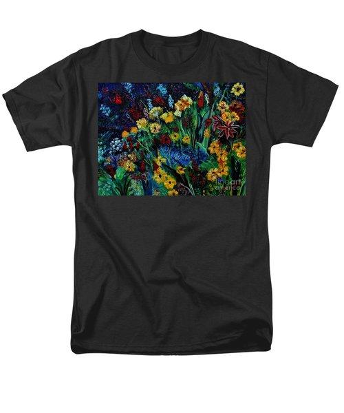 Moms Garden II Men's T-Shirt  (Regular Fit) by Julie Brugh Riffey