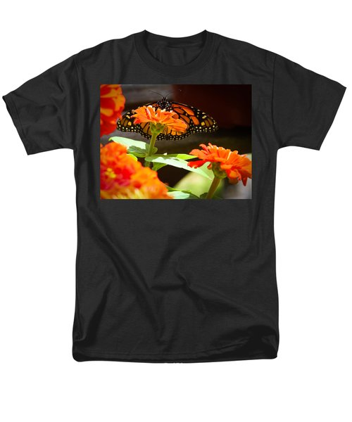 Men's T-Shirt  (Regular Fit) featuring the photograph Monarch Butterfly II by Patrice Zinck