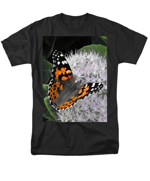 Men's T-Shirt  (Regular Fit) featuring the photograph Monarch by Photographic Arts And Design Studio