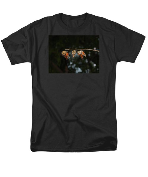 Monarch Trio Men's T-Shirt  (Regular Fit) by Shelly Gunderson
