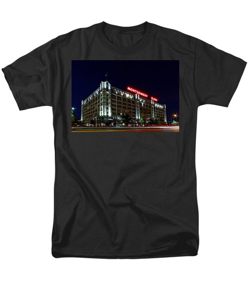 Montgomery Plaza Fort Worth Men's T-Shirt  (Regular Fit) by Jonathan Davison