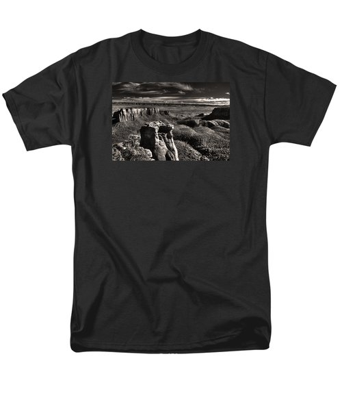 Monument Canyon Monolith Men's T-Shirt  (Regular Fit) by William Fields