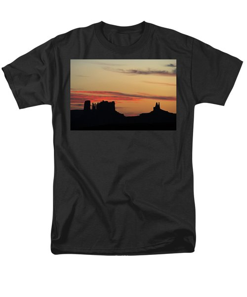 Monument Valley Sunset 1 Men's T-Shirt  (Regular Fit) by Jeff Brunton