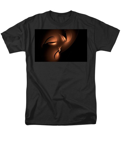 Men's T-Shirt  (Regular Fit) featuring the digital art Moody by GJ Blackman