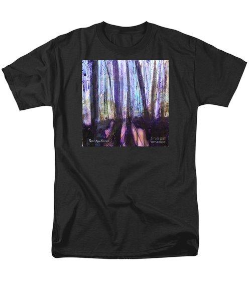 Moody Woods Men's T-Shirt  (Regular Fit) by Robin Maria Pedrero