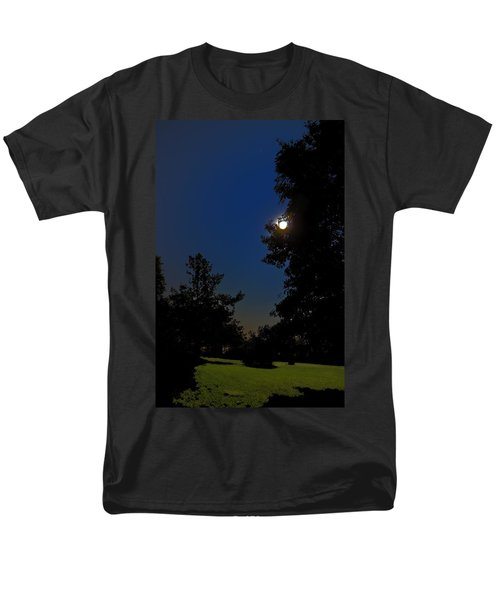 Men's T-Shirt  (Regular Fit) featuring the photograph Moon And Pegasus by Greg Reed