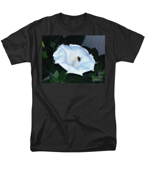Men's T-Shirt  (Regular Fit) featuring the photograph Moon Flower by Thomas Woolworth