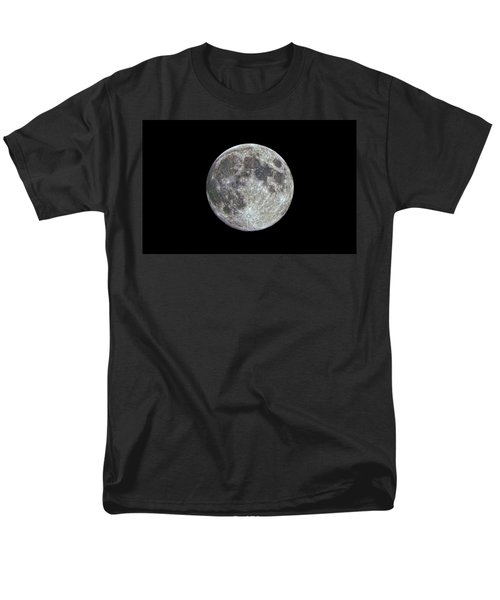 Men's T-Shirt  (Regular Fit) featuring the photograph Moon Hdr by Greg Reed