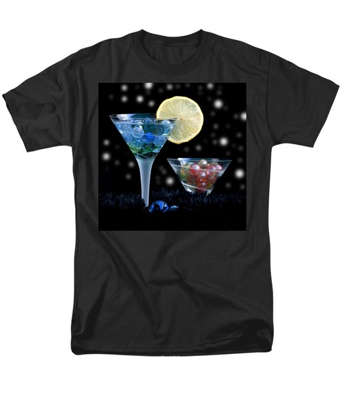Moon Light Cocktail Lemon Flavour With Stars 1 Men's T-Shirt  (Regular Fit) by Pedro Cardona