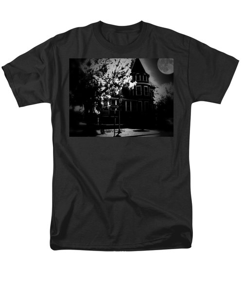 Men's T-Shirt  (Regular Fit) featuring the photograph Moon N U by Robert McCubbin