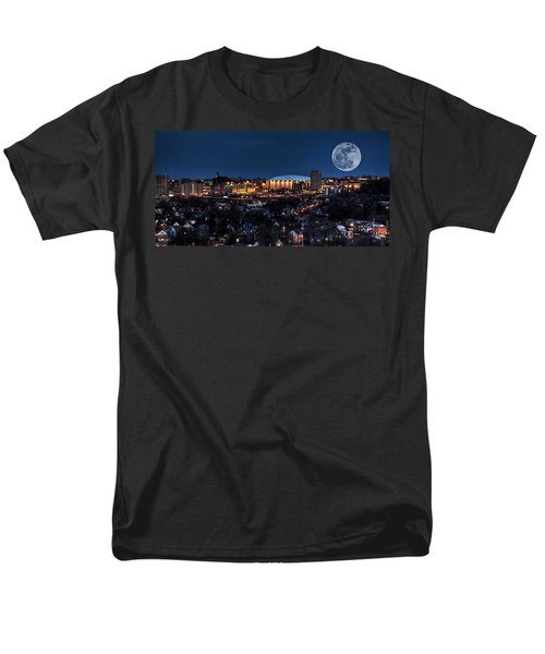 Moon Over The Carrier Dome Men's T-Shirt  (Regular Fit) by Everet Regal