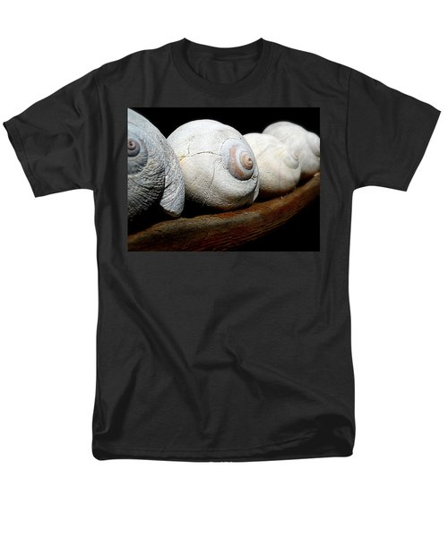 Moon Shells Men's T-Shirt  (Regular Fit) by Micki Findlay