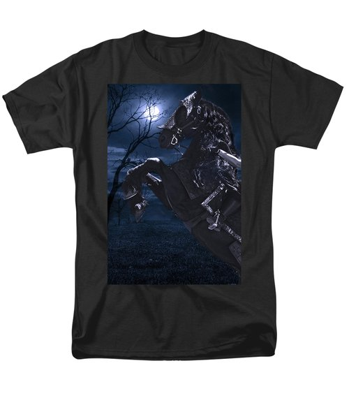 Moonlit Warrior Men's T-Shirt  (Regular Fit) by Wes and Dotty Weber