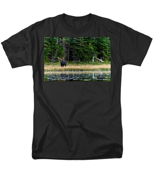 Moose Men's T-Shirt  (Regular Fit) by Ulrich Schade