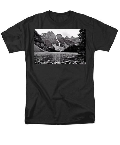 Moraine Lake Men's T-Shirt  (Regular Fit) by Linda Bianic