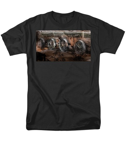 More Wagons East Men's T-Shirt  (Regular Fit) by Gunter Nezhoda