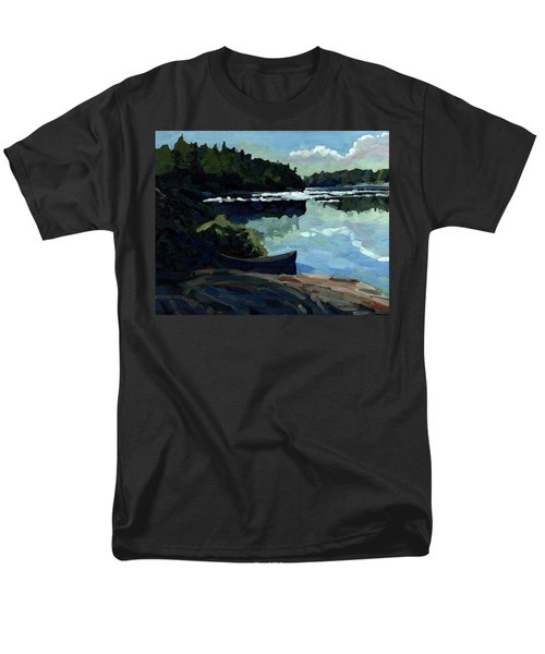 Morning Beach Men's T-Shirt  (Regular Fit) by Phil Chadwick