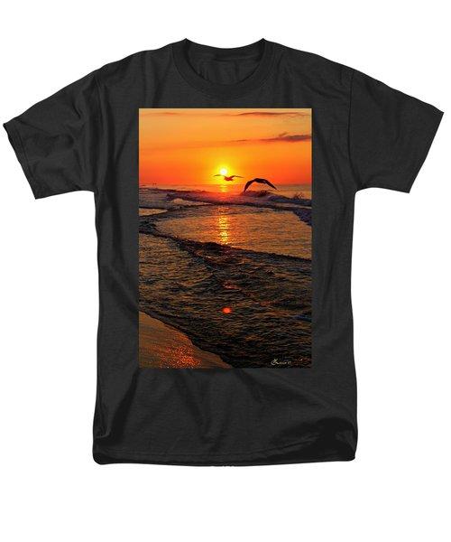 Morning Commute Men's T-Shirt  (Regular Fit)