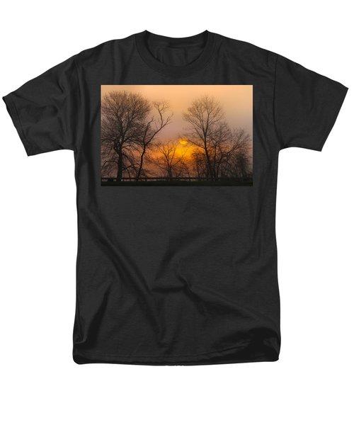 Morning Fog Men's T-Shirt  (Regular Fit) by Roger Becker