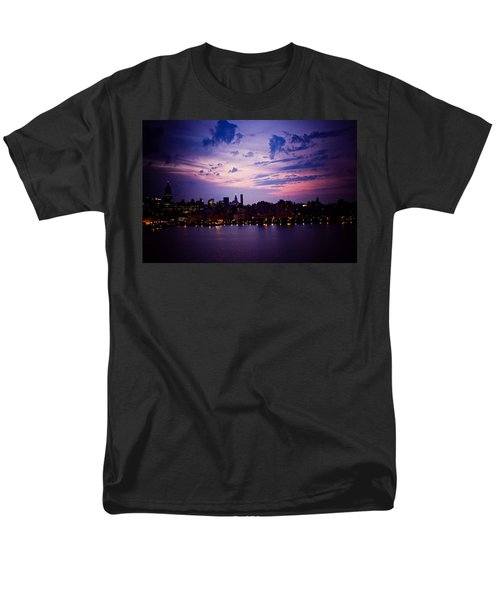 Men's T-Shirt  (Regular Fit) featuring the photograph Morning Glory by Sara Frank