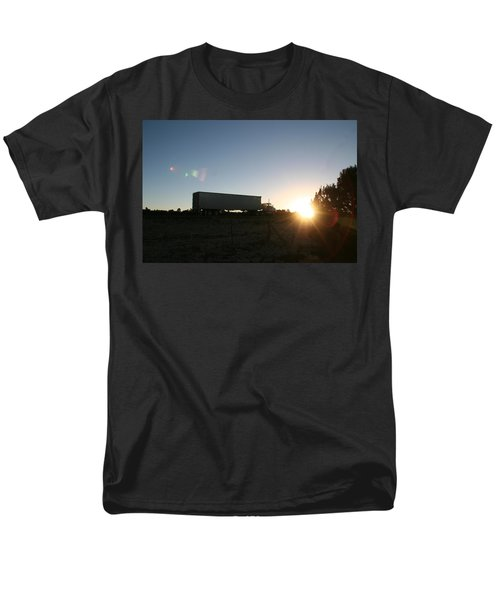 Men's T-Shirt  (Regular Fit) featuring the photograph Morning Run by David S Reynolds