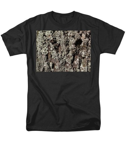 Men's T-Shirt  (Regular Fit) featuring the photograph Moss And Lichens by Jason Williamson