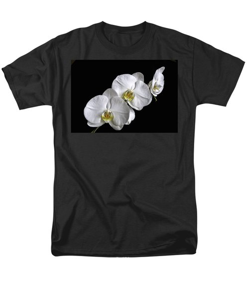 Moth Orchid Trio Men's T-Shirt  (Regular Fit) by Ron White