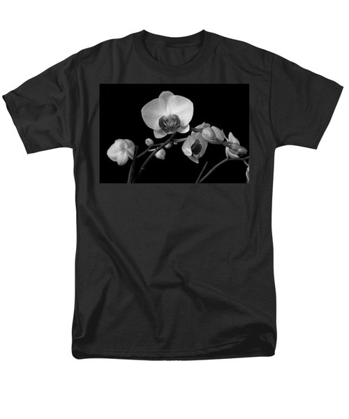 Men's T-Shirt  (Regular Fit) featuring the photograph Moth Orchids by Ron White