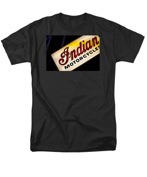 Motorcycle Sign Men's T-Shirt  (Regular Fit) by Art Block Collections
