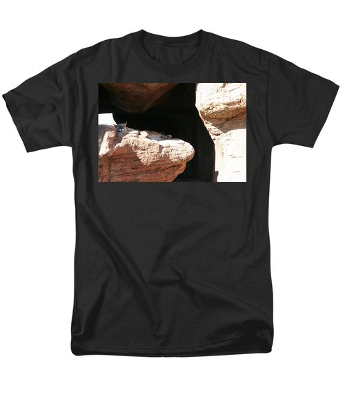 Men's T-Shirt  (Regular Fit) featuring the photograph Mountain Lion by David S Reynolds