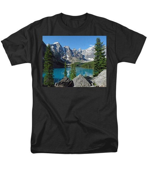Mountain Magic Men's T-Shirt  (Regular Fit) by Alan Socolik