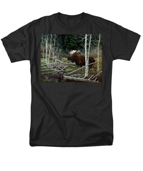 Mountain Monarch Men's T-Shirt  (Regular Fit) by Craig T Burgwardt