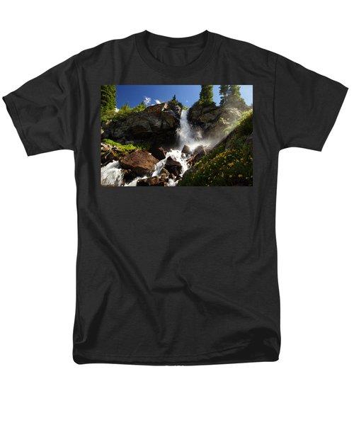 Mountain Tears Men's T-Shirt  (Regular Fit) by Jeremy Rhoades