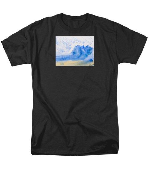Mountains Tasmania Men's T-Shirt  (Regular Fit) by Elvira Ingram