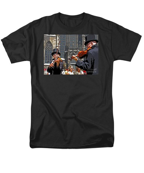 Men's T-Shirt  (Regular Fit) featuring the photograph Mozart In Masquerade by Ann Horn