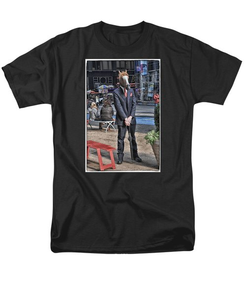 Men's T-Shirt  (Regular Fit) featuring the photograph Mr. Ed by Mike Martin