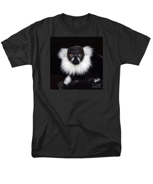 Men's T-Shirt  (Regular Fit) featuring the photograph Mr Lemur by Terri Waters