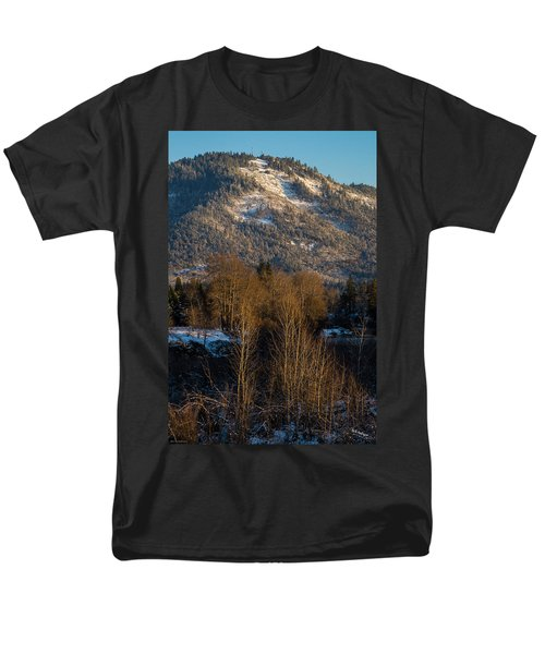 Mt Baldy Near Grants Pass Men's T-Shirt  (Regular Fit) by Mick Anderson
