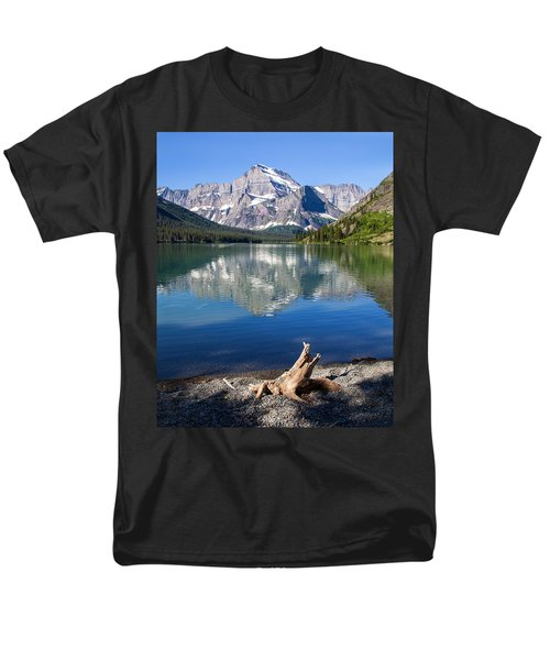 Mt Gould Reflections Men's T-Shirt  (Regular Fit) by Jack Bell