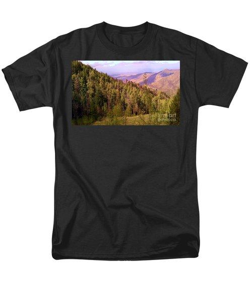 Mt. Lemmon Vista Men's T-Shirt  (Regular Fit) by Robert ONeil