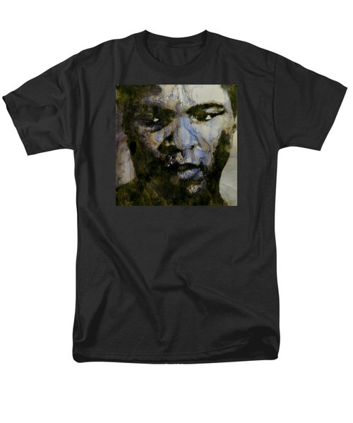 Muhammad Ali  A Change Is Gonna Come Men's T-Shirt  (Regular Fit) by Paul Lovering
