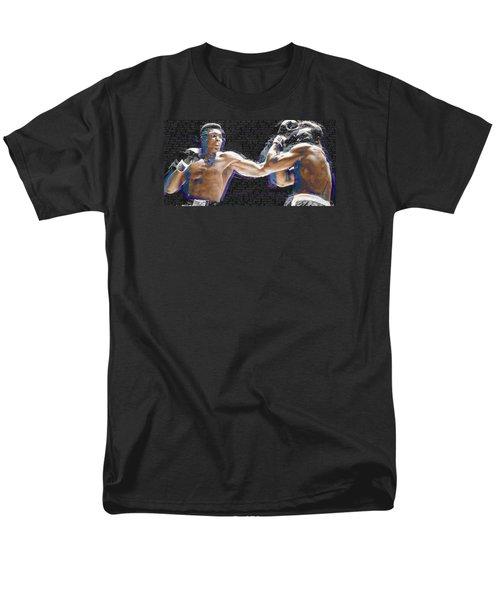 Muhammad Ali Men's T-Shirt  (Regular Fit) by Tony Rubino