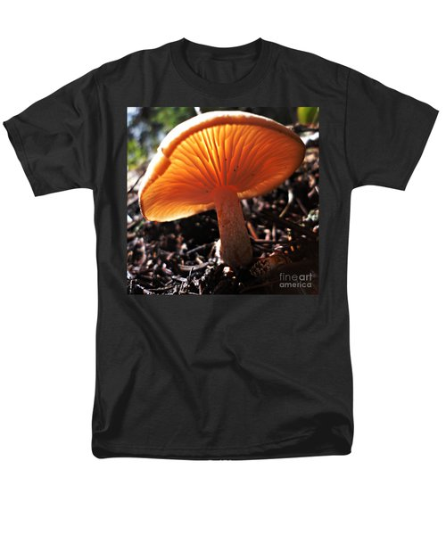 Men's T-Shirt  (Regular Fit) featuring the photograph Mushroom by Janice Westerberg