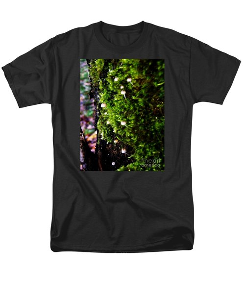 Men's T-Shirt  (Regular Fit) featuring the photograph Mushrooms by Vanessa Palomino