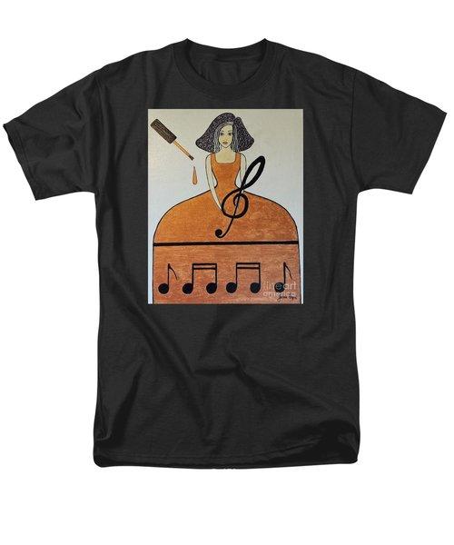 Music Lover Men's T-Shirt  (Regular Fit) by Jasna Gopic