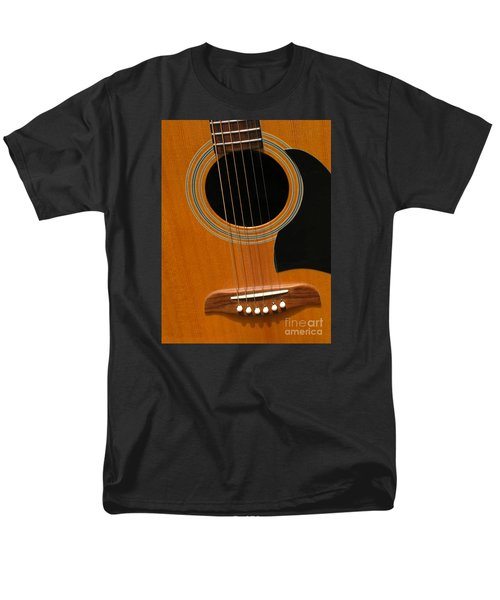 Men's T-Shirt  (Regular Fit) featuring the photograph Musical Abstraction by Ann Horn