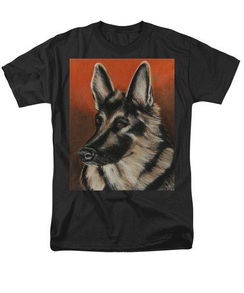 Men's T-Shirt  (Regular Fit) featuring the painting My Sadie by Jeanne Fischer