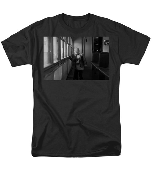 Men's T-Shirt  (Regular Fit) featuring the photograph My Shadow by Jeremy Rhoades