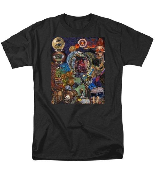 Mystery Of The Human Heart Men's T-Shirt  (Regular Fit) by Emily McLaughlin
