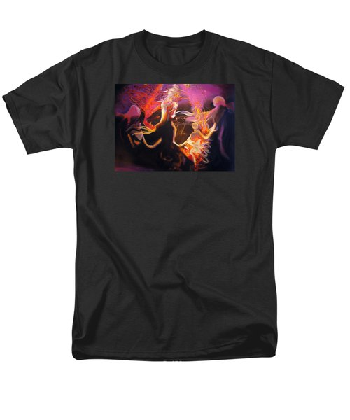Men's T-Shirt  (Regular Fit) featuring the painting Mystic Circle by Georg Douglas